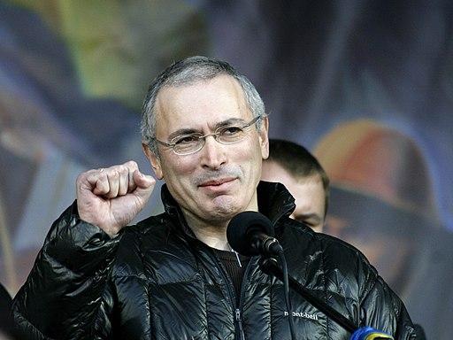 Mikhail Khodorkovsky in Kyiv
