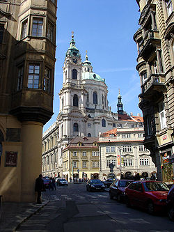 The Church of St. Nicolas in Prague; Radical Bohemian Baroque