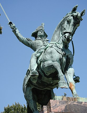 Gaetano Trentanove -  Kościuszko monument in Kosciuszko Park on the South Side of Milwaukee