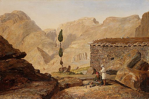 Miner Kilbourne Kellogg - The Top of Mount Sinai with the Chapel of Elijah - 1991.2 - Smithsonian American Art Museum
