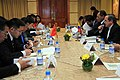 Ministro de Relaciones Exteriores Comercio e Integración Ricardo Patiño se reunió con el Ministro de Comercio de China Chen Deming (8034345064).jpg