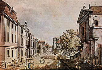 Miodowa Street (Warsaw) - Image: Miodowa 03