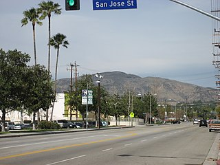Mission Point (California) mountain in United States of America