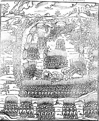 Battle of Obertyn - Moldavian Army engaging the Poles