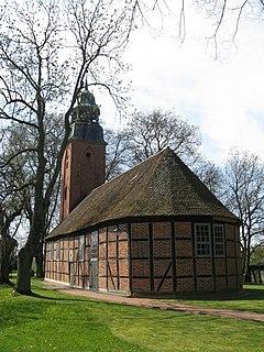 Möllenbeck, Ludwigslust Place in Mecklenburg-Vorpommern, Germany