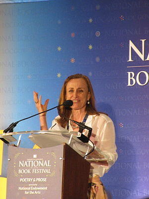 Mona Simpson - Simpson at the National Book Festival in January 2014