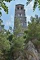 Monastery of Saint George Selinari Crete old steeple.jpg
