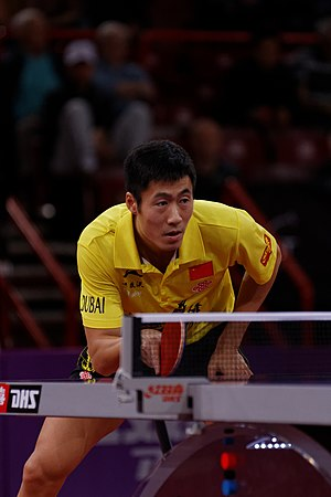 Wang Liqin - 2013 World Table Tennis Championships