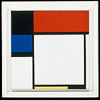 Mondrian - Fox Trot B, with Black, Red, Blue, and Yellow, 1929.jpg