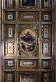 Monsummanto, santuario di fontenuova, interno, soffitto ligneo di giovanni desideri 03.jpg