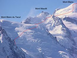 Mont Blanc - Three Mont Blanc route.jpg