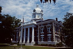 Montgomery County Courthouse (Built 1907), Mount Vernon, Georgia
