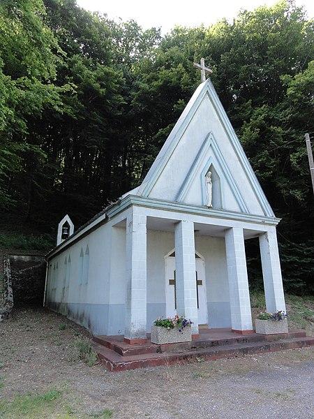 Montigny-sur-Chiers (Meurthe-et-M.) La Roche, chapelle
