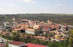 Moravský Krumlov - panorama od kaple svatého Floriána obr1.jpg