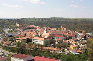 Moravský Krumlov Town in Czech Republic