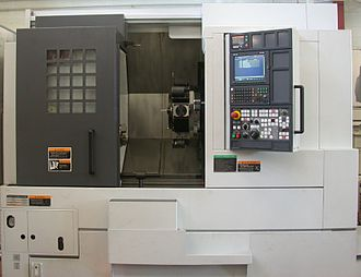 Токарный станок с системой управления ЧПУ