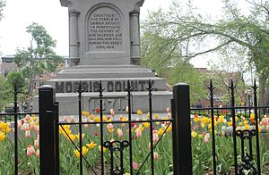 Morris County, New Jersey - Morris County Civil War monument in Morristown