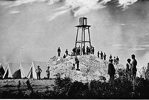 Morris Island Light - Image: Morris Island (vicinity), South Carolina. Ruins of Charleston lighthouse
