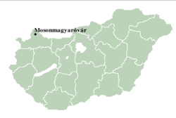 Mosonmagyaovar location.png