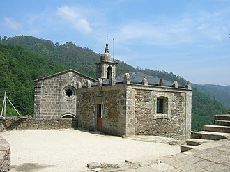 Pedro Fróilaz de Traba - Pedro's relationship to the monastery of Caabeiro is perhaps somewhat falsified in the surviving documents, but a document from here is one of the last records of Pedro (1125) and the only one that names his countship as Trastámara, that is, the lands beyond (tras) the Tambre (Támara).