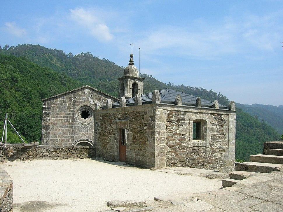 Mosterio de San Xoán de caaveiro. Galicia