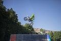 Motocross in Iran- Ali Borzozadeh حرکات نمایشی موتورکراس در شهرکرد، علی برزوزاده، عکاس- مصطفی معراجی 05.jpg