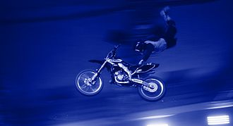 Freestyle motocross - A One-Handed Hart Attack performed by Ailo Gaup