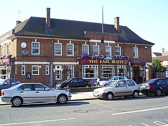 Motspur Park - The Earl Beatty pub