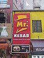 Mr. Kebab fast food in Istanbul.JPG