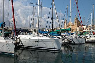 Msida - Boats in Msida marina