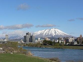 Morioka - Morioka and Mount Iwate