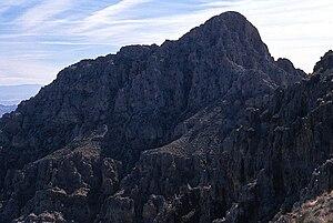 Muddy Mountains - Muddy Peak, second highest summit of the Muddy Mountains