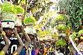 Mulaipari Procession Mandaiyamman Festival Madurai 2015.jpg