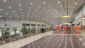 Multan International Airport - Multan's new terminal was built in 2015.