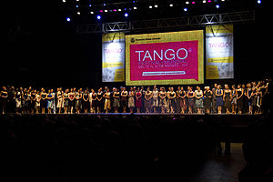 Tango - World tango dance tournament in Buenos Aires