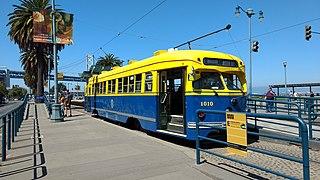 E Embarcadero San Francisco heritage streetcar line