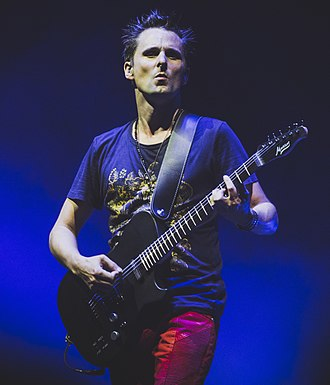 Matt Bellamy - Bellamy performing with Muse in August 2017