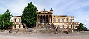 Staatliches Museum Schwerin - Staatliche Museum Schwerin - built 1882