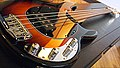 Music Man StingRay fretless bass body angled 2.jpg