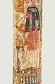 Musicienne jouant du hautbois double (musée du Louvre) (8714980652).jpg