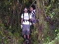 Muthukrishnan and Orang Asli Guide at Mount Korbu.JPG