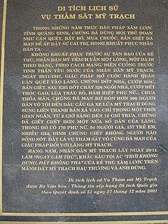 Mỹ Trạch massacre