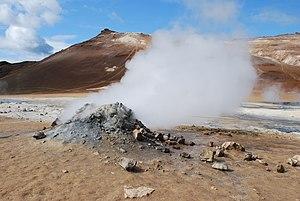 Fumarole - Fumarole at Námafjall, Iceland