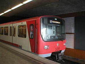 Nuremberg U-Bahn - Nuremberg U-Bahn train type DT2