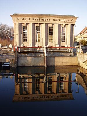 Nürtingen - Nürtingen power plant