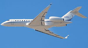 Bombardier Global 7000 - the Global 7000/8000 and the pictured Gulfstream G650 are the largest dedicated business jets