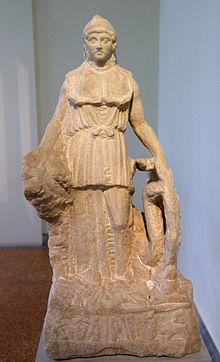 Афина Парфенос — Википедия