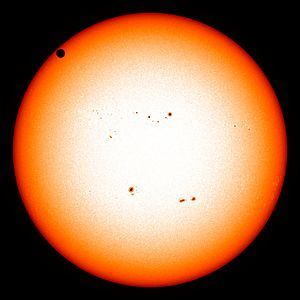 Transit of Venus - Continuous visible spectrum