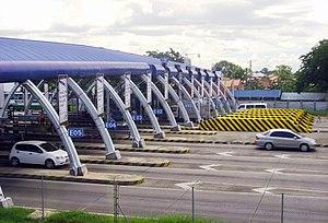 Guiguinto - Image: NL Ex Tabang Barrier