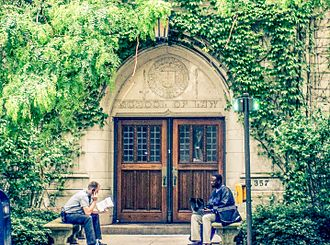 Northwestern University Pritzker School of Law - Entrance to Levy Meyer Hall